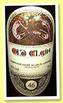 Old Elgin 46 yo 1938 (40%, Gordon & MacPhail, Book of Kells, +/-1984)