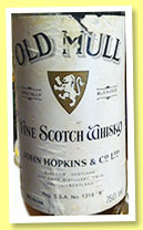 Old Mull (38%, OB, blend, for Mexico, 1950s)
