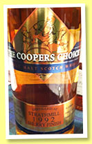Strathmill 21 yo 1992/2014 (46%, Coopers Choice, sherry finish, cask #9544, 350 bottles)