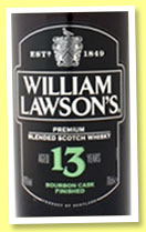 William Lawson's 13 yo (40%, OB, blend, bourbon cask finish, +/-2014)