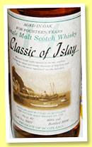Classic of Islay 14 yo (60%, Vintage Malt Whisky Co, for Jack Wiebers, single malt, cask #3007, 2006)