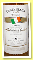 Cooley 23 yo 1992/2015 (55%, Cadenhead, Irish)