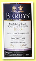Glen Garioch 23 yo 1990/2014 (56.1%, Berry Bros & Rudd, cask #7939)