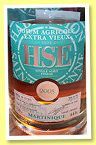 HSE 2005/2013 (44%, OB, Martinique, Agricole, Highland finish)