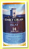 Islay 14 yo 1994/2008 (53,1%, The Daily Dram)