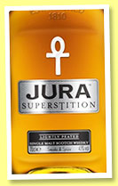Jura 'Superstition' (43%, OB, +/-2015)