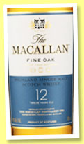 Macallan 12 yo 'Fine Oak' (40%, OB, +/-2014)
