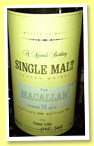 Macallan 14 yo 1980/1994 (43%, Master of Malt, 360 bottles)