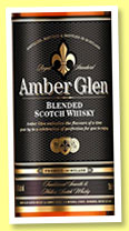 Amber Glen (40%, Amber Glen, blended Scotch, 2015)