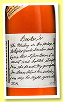 Booker's 7 yo (64.45%, OB, Kentucky straight bourbon, batch #2014-07, 2014)