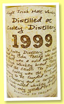 Cooley 1999/2012 (53.3%, Thosop by The Whiskyman, 179 bottles)