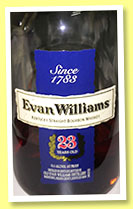 Evan Williams 23 yo (53.5%, OB, Kentucky straight bourbon, +/-2014)