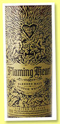 Flaming Heart '5th Edition' (48.9%, Compass Box, blended malt, 2015)