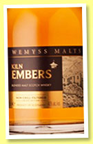 Kiln Embers (46%, Wemyss Malts, blended malt, 12,000 bottles, 2015)