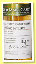 Laphroaig 14 yo 2000/2014 (50%, Hunter Laing, Old Malt Cask, cask ref #10741, 357 bottles)