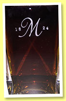 Macallan 25 yo 1965 'M' (43%, OB, decanter, +/-1990)