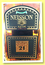 Neisson 21 yo (45.3%, OB, Martinique, agricole, 2015)