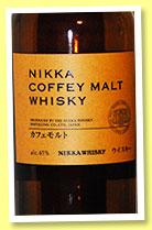 Nikka 'Coffey Malt' (45%, OB, +/-2014)
