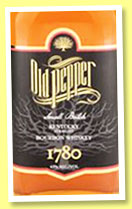 Old Pepper (43%, OB, Kentucky straight bourbon, +/-2015)