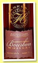 Parker's Heritage Collection 2001 (66.6%, OB, blend of mashbills, 2012)