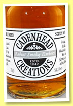 Robust Smoky Embers 23 yo (54.3%, Cadenhead, Creations, blend, 2015)