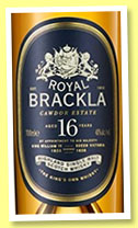 Royal Brackla 16 yo (40%, OB, 2015)