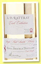 Royal Brackla 8 yo 2006/2015 (61.2%, A.D. Rattray, bourbon, cask #310818, 300 bottles)