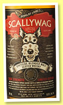 Scallywag 'Cask Strength N°1' (53.6%, Douglas Laing, Speyside blended malt, 2015)