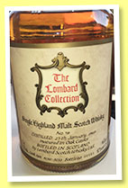 Tomatin 1965 (46%, The Lombard Collection, The Golfing Greats, casks #9250-9253, +/-1990)
