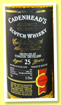 Tomatin 25 yo 1989/2015 (51.9%, Cadenhead, Authentic Collection)
