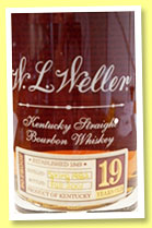 W.L. Weller 19 yo 1982/2001 (90 US proof, OB, Kentucky straight bourbon)