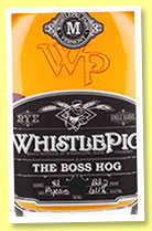 WhistlePig 13 yo 'The Boss Hog' (61.1%, OB, Canadian Rye, USA, cask #42, 2014)