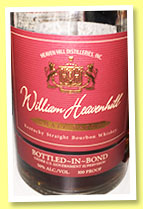 William Heavenhill 'Bottled-in-Bond' (50%, OB, Kentucky straight bourbon, +/-2014)