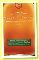 Woodford Reserve 'Kentucky Straight Rye' (45.2%, OB, +/-2015)