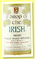 A Drop of the Irish (59.9%, Blackadder, single malt, 316 bottles, 2015)
