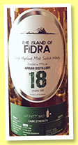 Arran 18 yo 1996/2015 'The Island of Fidra' (50.6%, Lockett Bros, bourbon hogshead, cask #1300, 200 bottles)