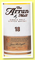 Arran 18 yo (46%, OB, sherry hogshead, 9000 bottles, +/-2015)