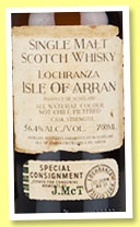 Arran 'The Illicit Stills' (56.4%, OB, Smugglers' Series, 8,700 bottles, 2015)