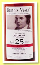 Aultmore 25 yo 1990/2015 (57.8%, The Whisky Barrel, Burns Malt, sherry butt, cask #3241)