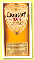 Clontarf '1014' (40%, OB, Irish Single Malt, bourbon wood, +/-2015)