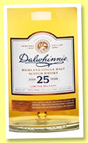 Dalwhinnie 25 yo 1989/2015 (48.8%, OB, Special Release, 5,916 bottles)