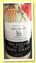 Ireland 16 yo 1999/2015 (53.5%, The Nectar of the Daily Drams)