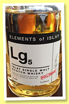Lg5 (54.8%, Specialty Drinks, Elements of Islay, 2015)