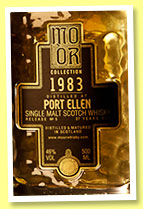 Port Ellen 27 yo 1983/2010 (46%, Mo Or Collection, bourbon hogshead, cask #627, 164 bottles)