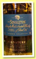 The Singleton of Glen Ord 'Signature' (40%, OB, sherry cask finish, +/-2015)