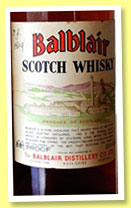 Balblair 1949 (OB, Bertie Cumming's private cask, +/-1970)