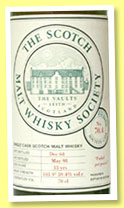 Balblair 33 yo 1968/1998 (59.4%, Scotch Malt Whisky Society, #70.4, Faded pot-pourri)