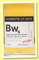 Bw5 (50.2%, Speciality Drinks Ltd, Elements of Islay, 2015)