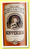 Coppersea 'Green Malt Rye' (45%, OB, USA, New York, +/-2015)