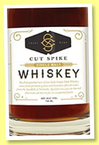 Cut Spike 2 yo 'Batch 001' (43%, OB, single malt, USA, Nebraska, +/-2014)